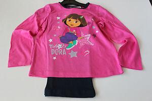 Pyjama-set-pyjama-fille-Nickelodeon-Dora-rose-taille-98-104-116-128-32