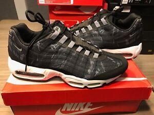 Details about 2013 Nike Air Max 95 Premium Tape Camo Black White Grey RARE SZ 11 599425010