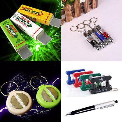 New Electric Shock Joke Chewing Gum Pen Toy Gadget Prank Trick Gag Gift Funny