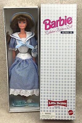 16352 Little Debbie Series III Barbie 1997 MIB NRFB