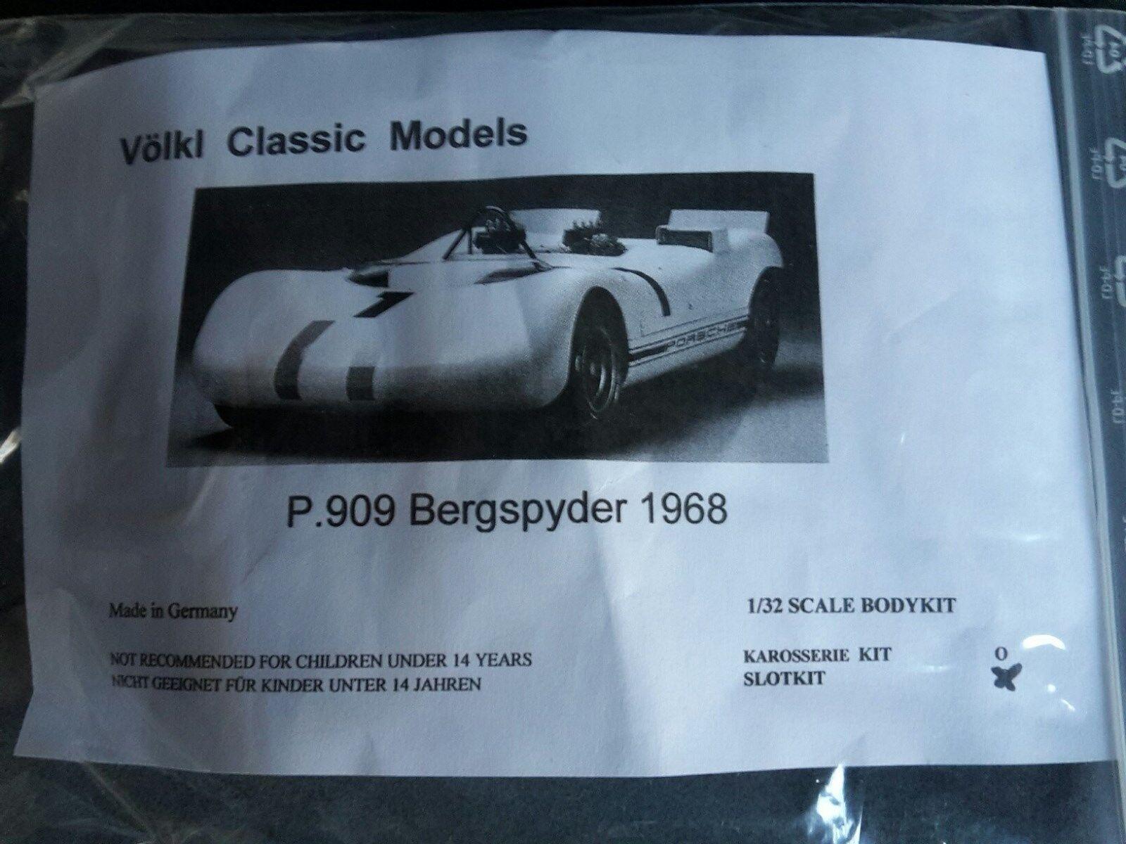1 32 VMC  Porsche 909 Bergspyder 1968 GFK SMasse Kit Neu