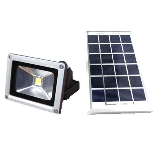 FARO FARETTO 5 WATT LED ENERGIA SOLARE 5W 9V BATTERIA RICARICABILE PANELLO 5W