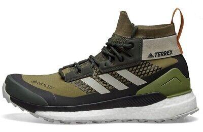 Adidas Terrex Free Hiker GORE-TEX Raw Khaki /Sesame Men's 7 | eBay