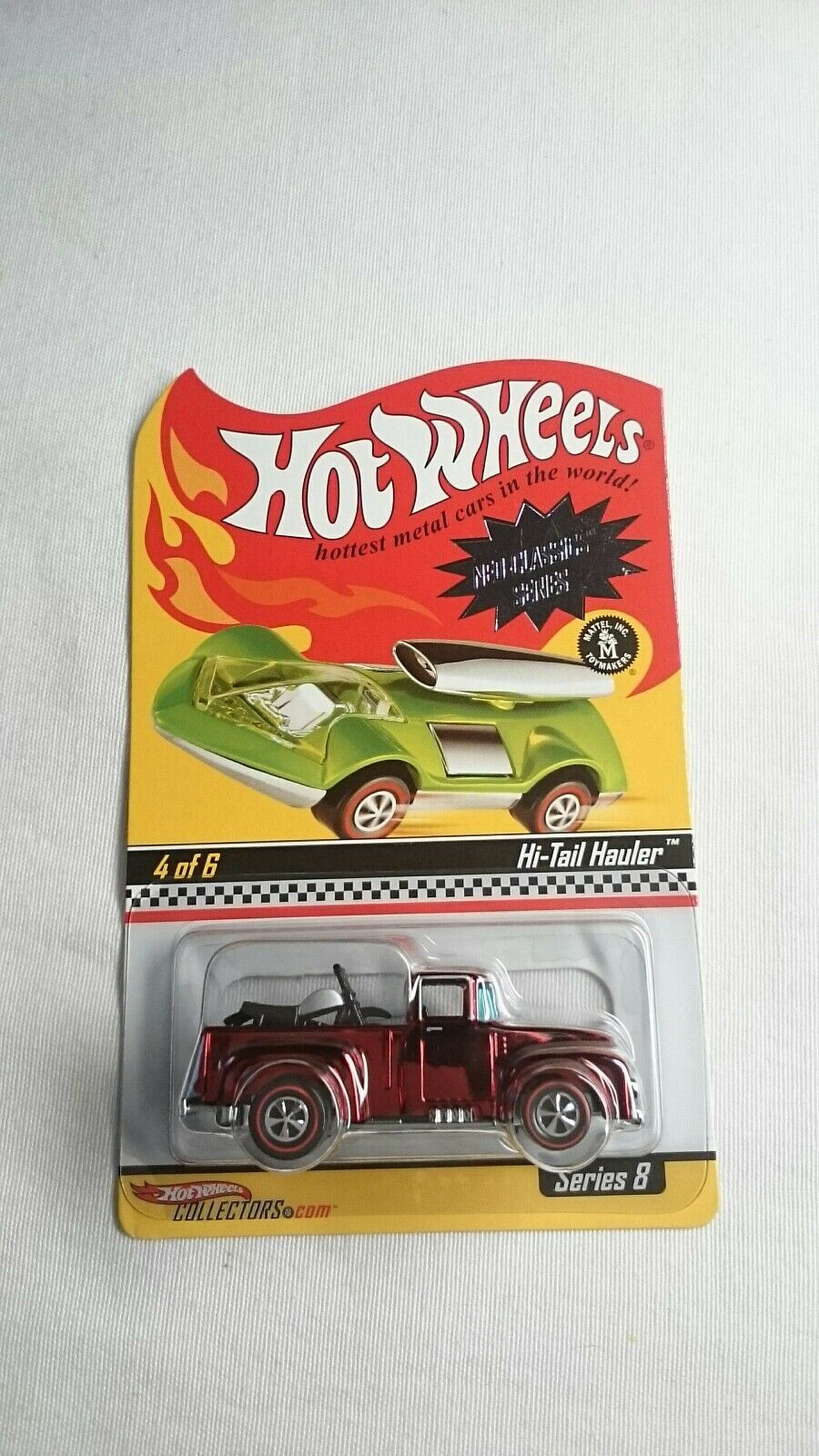 HOT WHEELS NEO CLASSICS HI TAIL HAULER 2764 6500 DIE DIE DIE CAST MINT 1 64 RLC 9b4754