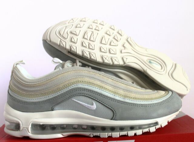 45530e73089 Nike Air Max 97 Premium Light Pumice Summit White DS 312834-004 Sz ...