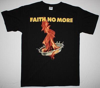 FAITH NO MORE THE REAL THING'89 MIKE PATTON MR.BUNGLE FANTOMAS NEW BLACK T-SHIRT