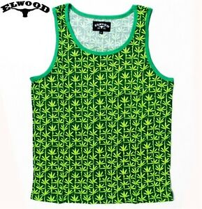 THE-BUD-TANK-TOP-SINGLET-BY-ELWOOD-PLANTLIFE-KUSH-AUTHENTIC-IMPORTED-FROM-USA