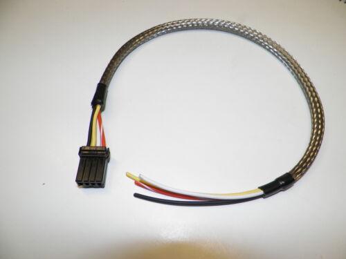 Harley 12X18 OEM 4 wire custom 304 stainless braided head light wiring harness