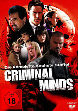 Criminal Minds - Die komplette 6. Staffel                            | DVD | 444