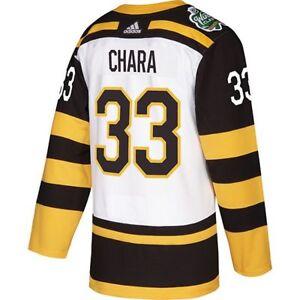 Zdeno Chara Boston Bruins Adidas 2019 Winter Classic Official Jersey ... 4c22d4197