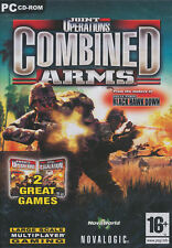 Joint Operations COMBINED ARMS 2x PC Games NEW in BOX!