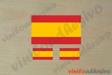 PEGATINA STICKER VINILO Bandera España Spain autocollant aufkleber adesivi