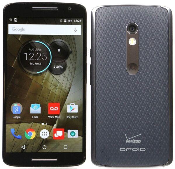 Motorola Droid Maxx 2 - 16GB - Black (Verizon) Smartphone for sale online |  eBay