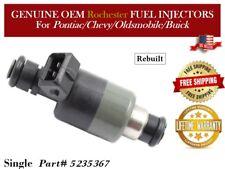 Refurb 6x OEM Rochester Fuel Injectors />Pontiac Sunbird  3.1L V6 91-93/< 17122105
