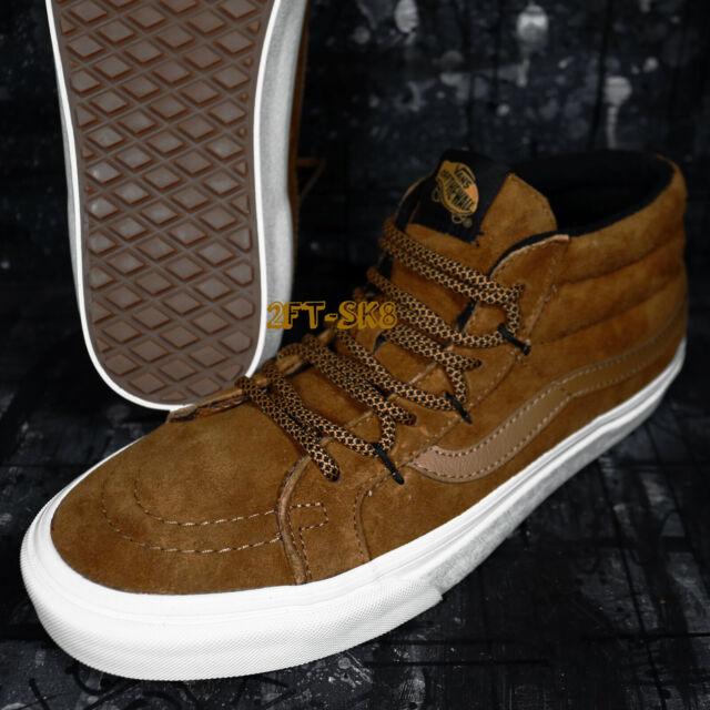 996ed708 VANS Sk8 Mid Reissue Ghillie MTE Sudan Brown Men's Shoes 10