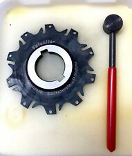 Valenite Indexable Slotting Cutter V350a0840c10 Withwrench New In Box