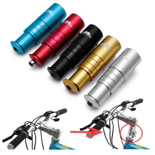Aluminum Alloy Bicycle Bike Handlebar Fork Stem Riser Up Extender Head Adapter