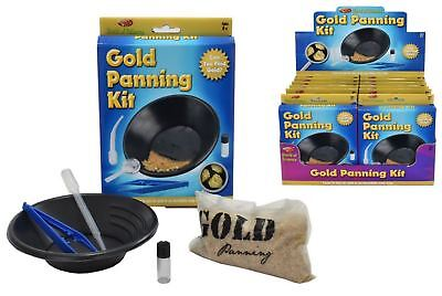GOLD PANNING KIT TY9522 SCIENCE EDUCATIONAL GOLD MINING KANDY KIDS LEARN PLAY