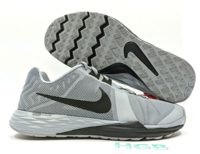 san francisco 4ae77 8ebb0 Nike Train Prime Iron DF Mens Grey Black White Training Gym Shoes  832219-003 NIB