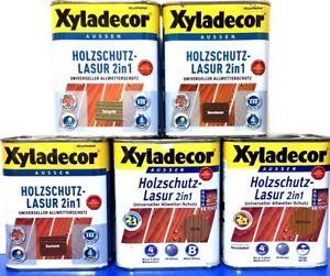 Xyladecor Farben.Details Zu 18 37 L Xyladecor 2 In 1 Holzschutz Lasur 0 75 Liter Holzlasur Holz Farbe Esa