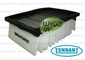 NEW Tennant Nobles 1037821 Vacuum Panel Filter for 5700 T12 T7 5680 R14 SSR