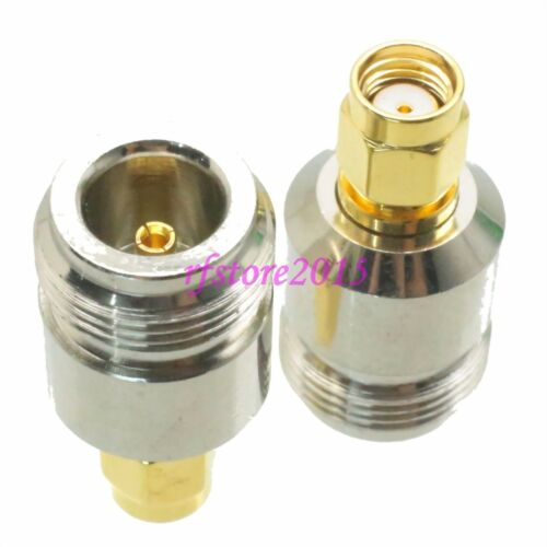 1pce Adapter Connector N female jack to RP-SMA male jack for wireless router