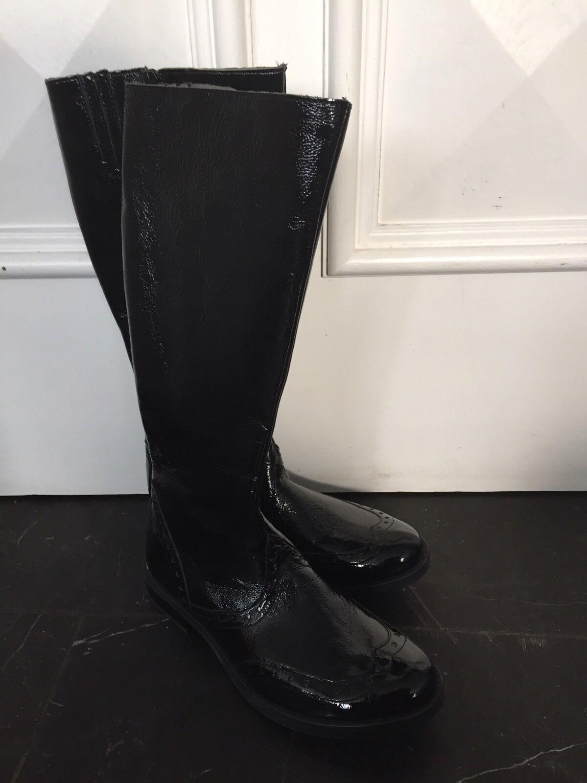 Mod8-Echtleder Stiefel-schwarz-Gr 36-neu Günstige und gute Schuhe