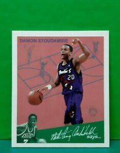 Damon Stoudamire insert card Goudey Greats 1997-98 Fleer #14