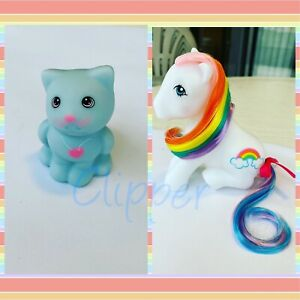 G1 Style Vintage Rainbow Pony Custom Hqg1c - Pretty Bow & Sky
