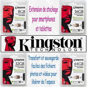 Cle-de-stockage-OTG-OnThe-Go-Kingston-USB-2-0-pour-Smartphones-et-tablettes