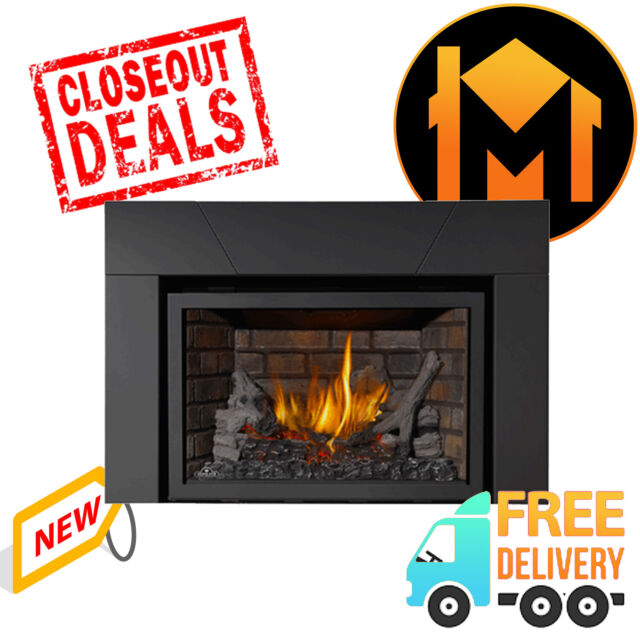 Napoleon Ir3n 1sb Basic Infrared Fireplace Insert With Log Set For