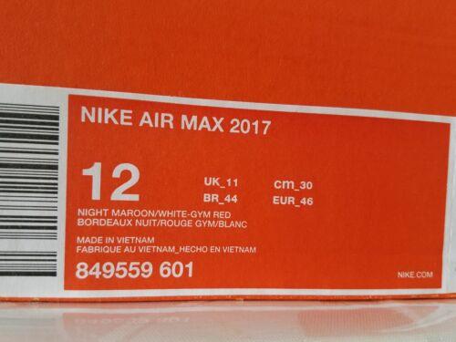Red Air 2017 Torch 676556128620 New 849559 Invigor Maroon Nib Nike 601 Max W7YfE44Fq