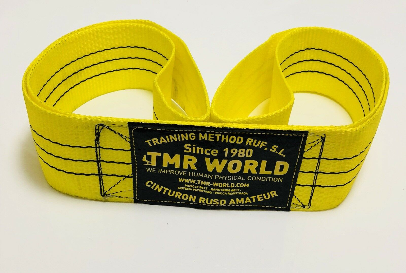 Belt Russian Amateur (Yellow) by Tmr-World Strap Musculador (2019)