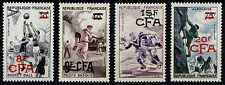 France Reunion 1956 8fr-20fr Sports Scott 318-321 SG 377-380 UMM/MNH Cat $29
