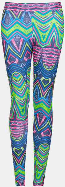 TOPSHOP  TOP SHOP Multicolor Neon Scuba Active Leggings New Sz US 4 Geometric