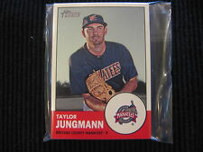 (10) 2012 TOPPS HERITAGE MINOR #131 TAYLOR JUNGMANN LOT  BREVARD COUNTY MANATEES