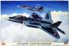 "Hasegawa 02088 F-22 Raptor ""JASDF Sea Camouflage"" 1/72 kit"
