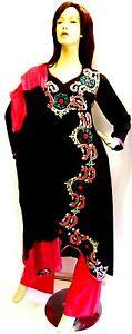 Shalwar-kameez-black-eid-pakistani-designer-salwar-sari-abaya-hijab-suit-uk-14