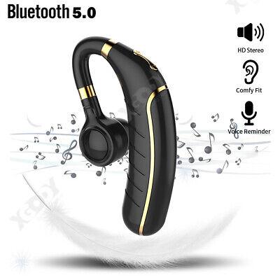 Wireless Bluetooth Noise Cancelling Trucker Headset Earpiece For Driving Black Ebay