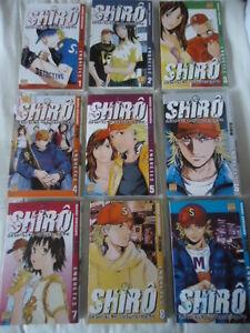 Lote-Shiro-Detective-Catastrophe-9-Tomos-Series-Complete-Completo-VF-Taifu