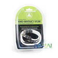 Jl Audio Xmd-whtaicy-1f2m Marine Audio Rca Y-adapter - 1 Female, 2 Male