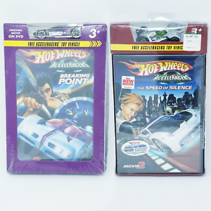 Hot-Wheels-Acceleracers-DVD-Lot-Exclusive-RD-06-amp-Spine-Buster-Rare