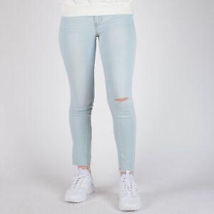 Levi-039-s-711-Skinny-Sky-hellblau-Damen-Jeans-28-32