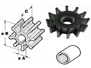 Johnson 09-0812B Impeller CEF 500124 Yanmar 119773-42600-01 Jabsco 13554-0001