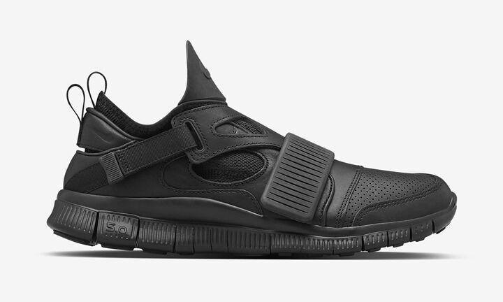 Nike Lab Free Huarache carnivore SP Men's Shoes 801759-001 Black RARE NWT NIB
