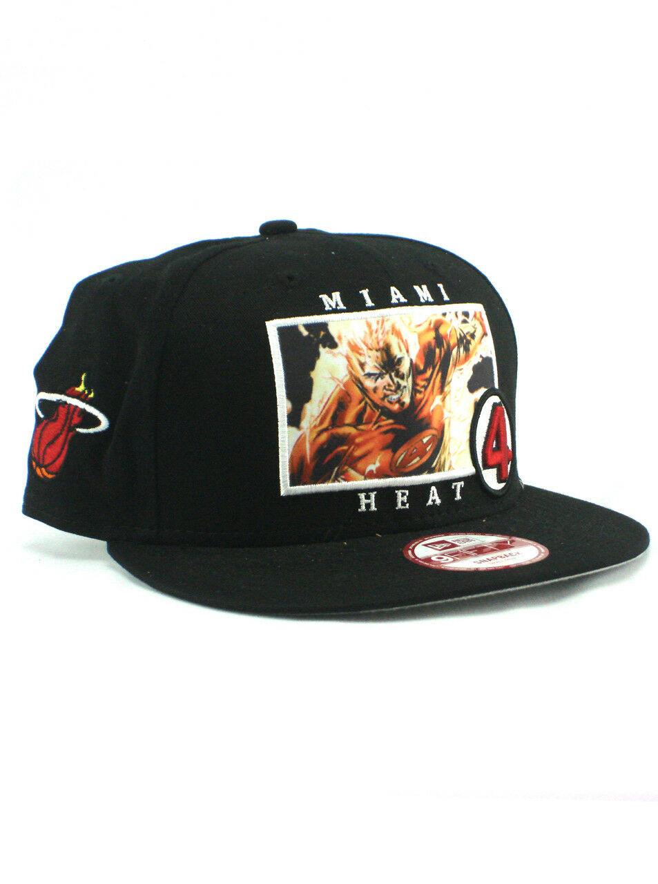 premium selection b269e 7b65b ... coupon code for new era 9fifty miami heat human torch 9fifty era snapback  hat nba adjustable