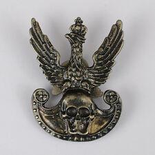 Obsolete Polish Death Hussars Police Squadron  1920 War service badge rare