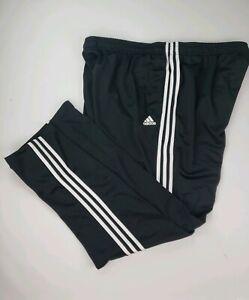 adidas pants 3 stripes black