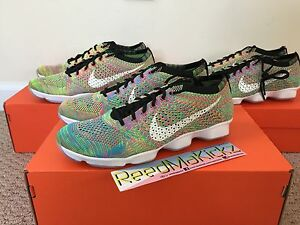a481bb783b1e Image is loading Nike-Flyknit-Zoom-Agility-Multi-Color-Womens-Sizes
