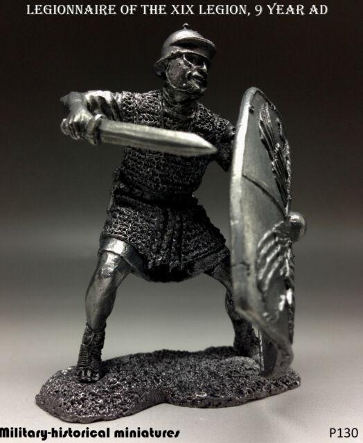 Legionnaire XIX Legion  9year AD, Tin toy soldier 54mm, figurine,metal sculpture